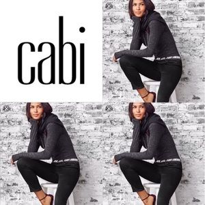 "CAbi #3189 ""New Crop"" black  jeans"